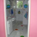Toaleta maluszków...
